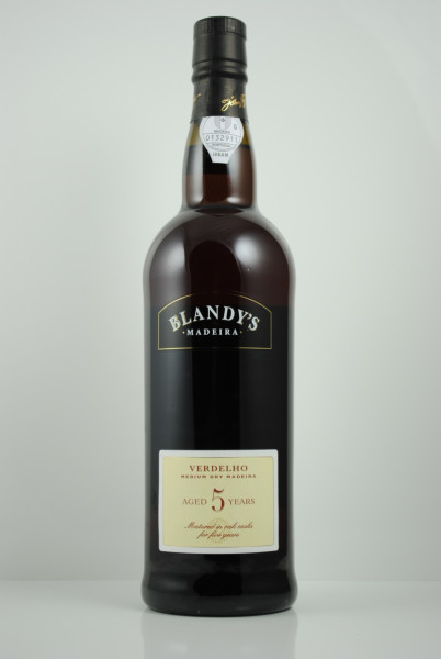 Madeira VERDELHO 5 years, Blandy's